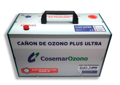 cañon de ozono plus ultra